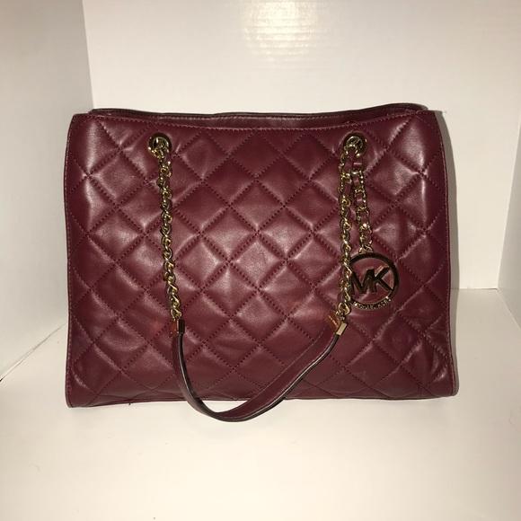 ec4f815c562f Authentic MK Susannah Quilted Leather Large. M 5a5d6e14a825a652a8293f51